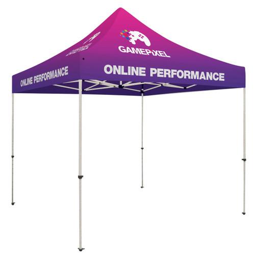 Standard 10' X 10' Event Tent Kit (Full-Color, Full Bleed Dye-Sublimation) (240619)