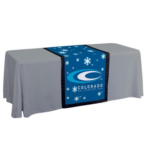 "28"" Accent Table Runner (Full-Color Dye Sublimation, Full Bleed)"