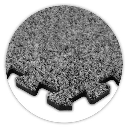 Soft Carpet Light Grey Flooring