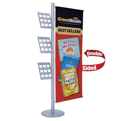 Flex Banner with Literature Kit, Single Banner (Double-Sided) (263245)