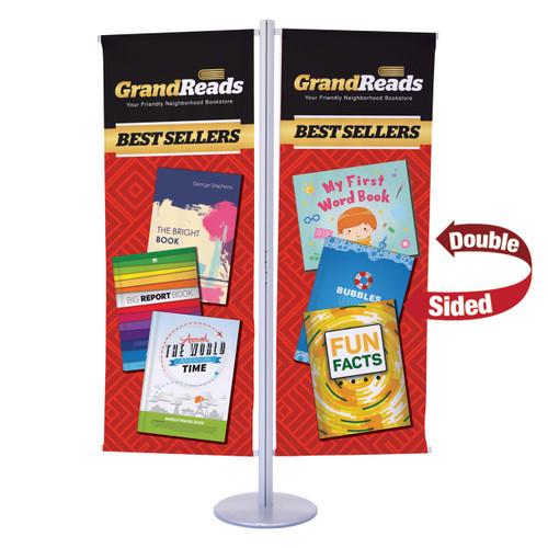 Flex Banner Display Kit, Double Banner (Double-Sided) (263243)