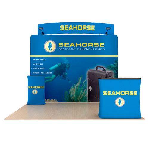 Waveline 10ft Straight Wall Seahorse Kit C