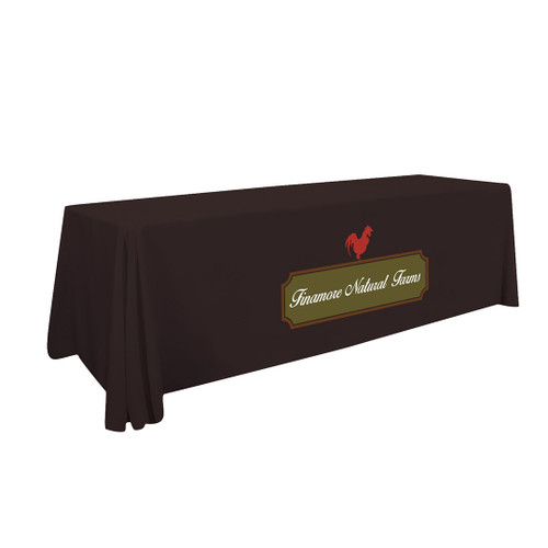 8ft Standard Table Throw (Full-Color Imprint, One Location) (109014)