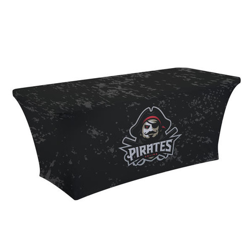 6ft UltraFit Curve Table Throw Open Back (Full-Color Dye Sublimation, Full Bleed) (114015)
