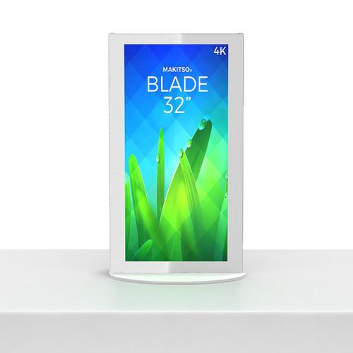 """Blade - Mini Blade Kiosk, White, Touch, Android Interface - 32"""" (MIN-WTA32)"""