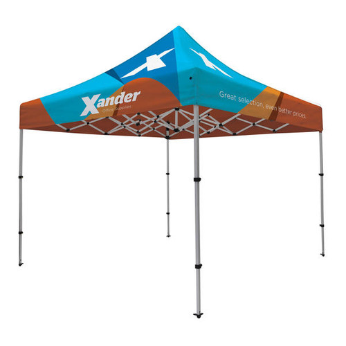 Compact 10' x 10' Event Tent Kit (Full-Color Imprint, Full Bleed, Dye Sublimated) (240969)