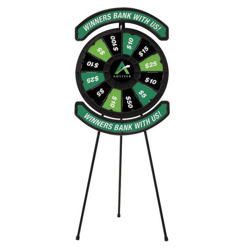 Spin 'N Win Prize Wheel Plus Kit