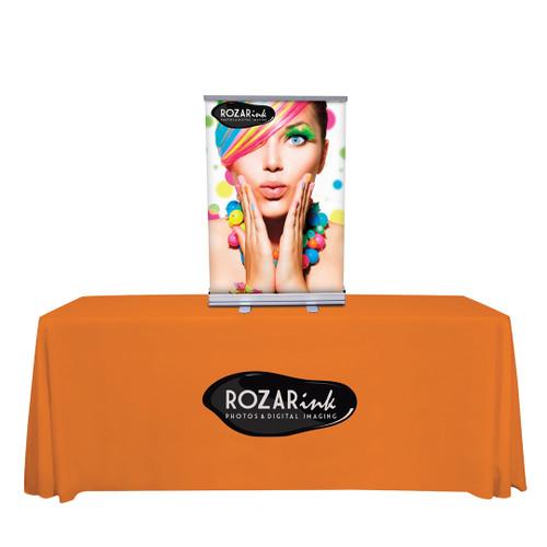 "24"" Economy Tabletop Retractor Kit (No-Curl Opaque Fabric) (262160)"