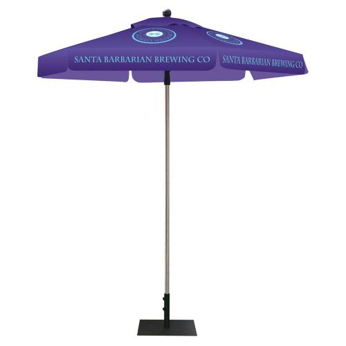 Umbrella - 8ft Hexagon Full Color Print
