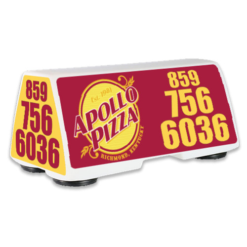 Car Top LED Lighted Sign- Small