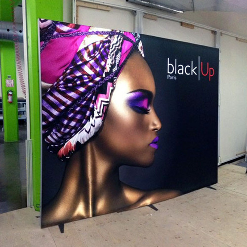 10' x 8' Panoramic Lightbox LED Trade Show Display