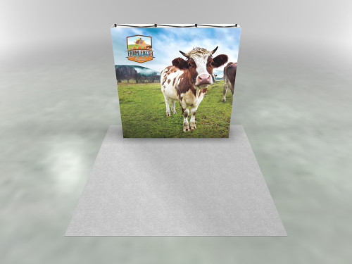 8ft X1s 3x3 Backlit Single Sided Display
