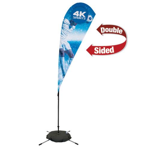 8ft Streamline Teardrop Sail Sign Flag Kit