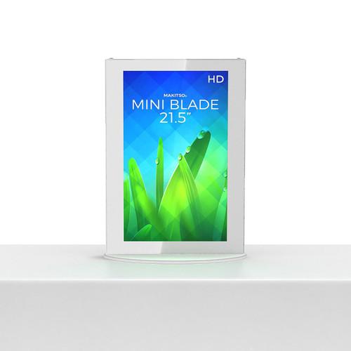 """Mini Blade Kiosk, White, Touch, Intel mini PC Interface - 21.5"""" (MIN-WTI21)"""