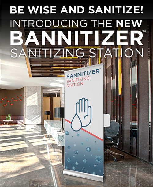 NEW Bannitizer Sanitizing Station