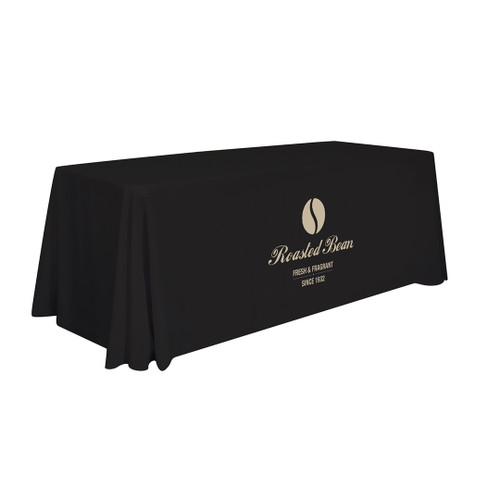 6ft Stain-Resistant Economy Table Throw (Full-Color Imprint, One Location) (114125)