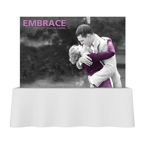 SEG 7.5ft Wide Pop Up Frame 3x2 w/ Full Silicone Edge Graphics