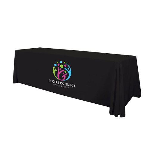 8ft Enviro Standard Table Throw (Full-Color Imprint, One Location) (107143)