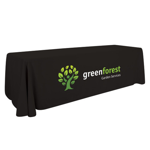 8ft Enviro Economy Table Throw (Full-Color Imprint, One Location) (107147)