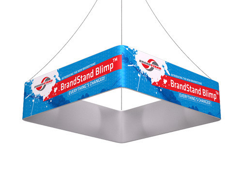 Blimp Square Hanging Signs - Quad