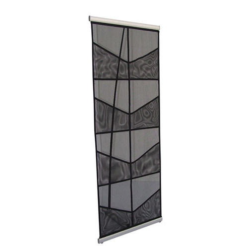 MESH Double Literature Display Stands