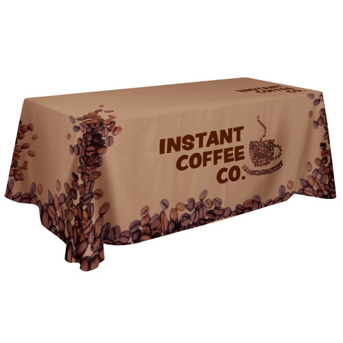 48-Hour Quick Ship 6' Standard Table Throw (Full-Color Dye Sublimation, Full Bleed) (109048)