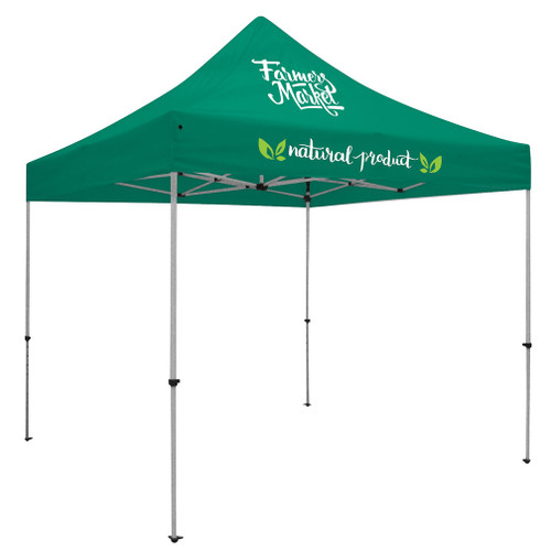 Deluxe 10' Tent Kit (Full-Color Imprint, Two Locations)