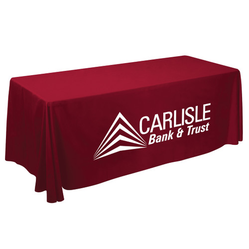 6ft Value Lite Table Throw (White Imprint, One Location)