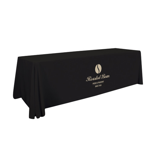 8ft Stain-Resistant Economy Table Throw (Full-Color Imprint, One Location) (114127)