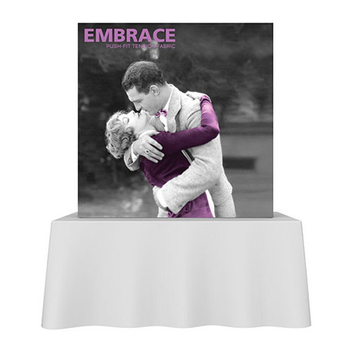 SEG 5ft Wide Pop Up Frame 2x2 w/ Full Silicone Edge Graphics