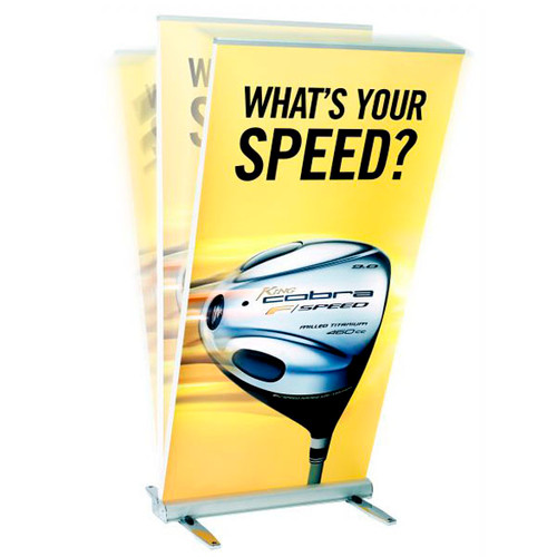 Expand MediaScreen 2 OutDoor Retractable Banner Stand