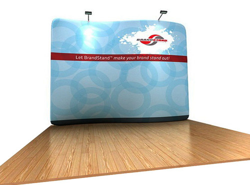 10ft WaveLine Serpentine Fabric Display (WL43S-PCC)