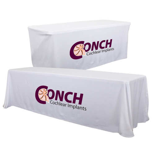 24-Hour Quick Ship 6'/8' Convertible Table Throw (Full-Color Imprint, One Location) (104032)