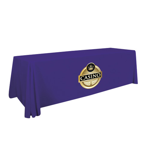 24-Hour Quick Ship 8ft Standard Table Throw (Full-Color Imprint) (109032)