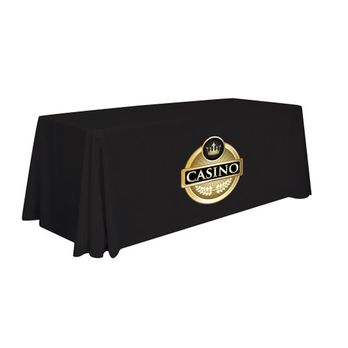 24-Hour Quick Ship 6' Standard Table Throw (Full-Color Imprint) (109031)