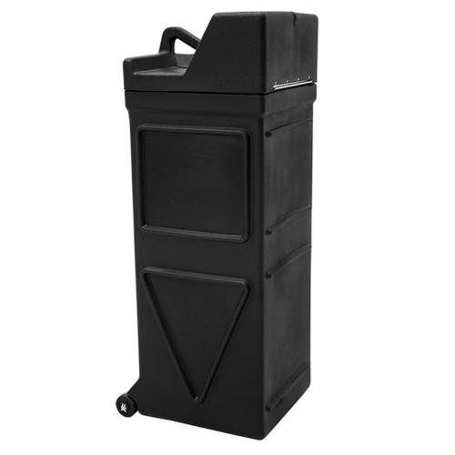 Square Display Hard Case with Wheels 15.5 in (W) x 41.25 in (H) x 17 in (L)