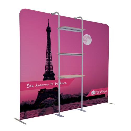 EuroFit Cascade Three-Shelf Merchandiser Kit (256392)