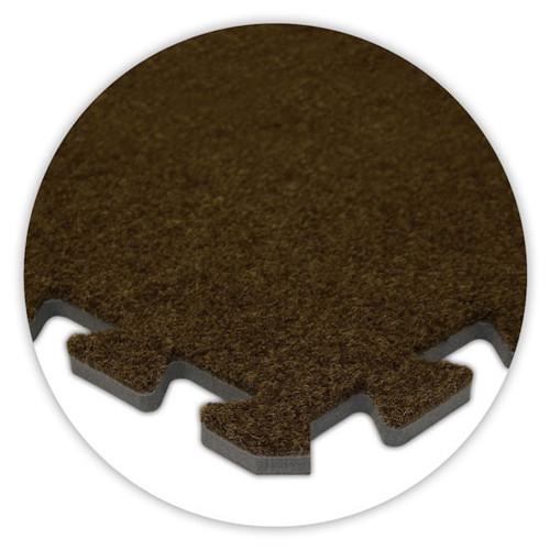 Soft Carpet Brown Flooring