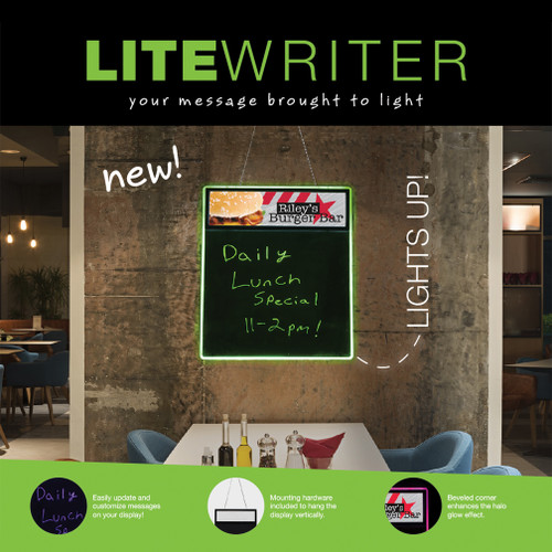 "LiteWriter Display 19"" W x 23.87"" H Kit"