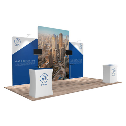 10'x20′ Quick-N-Fit Booth – Kit 1213