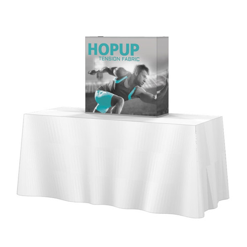 Hopup 2.5ft Tabletop Fabric Pop up Display