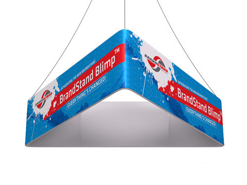 Blimp Triangle Hanging Signs - Trio