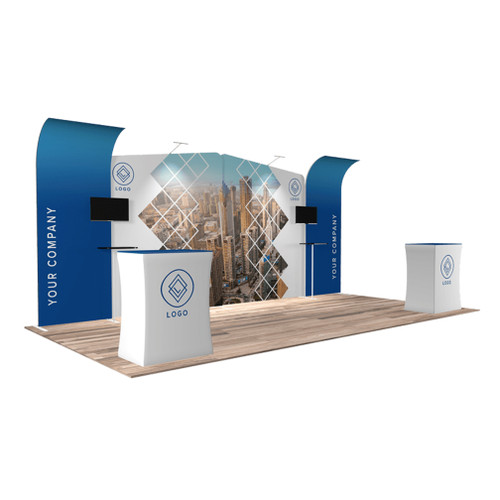 10'x20′ Quick-N-Fit Booth – Kit 1214