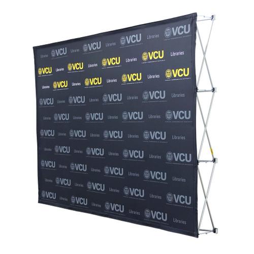 10ft Straight Splash Floor Display Face Kit (Block-Out Fabric)