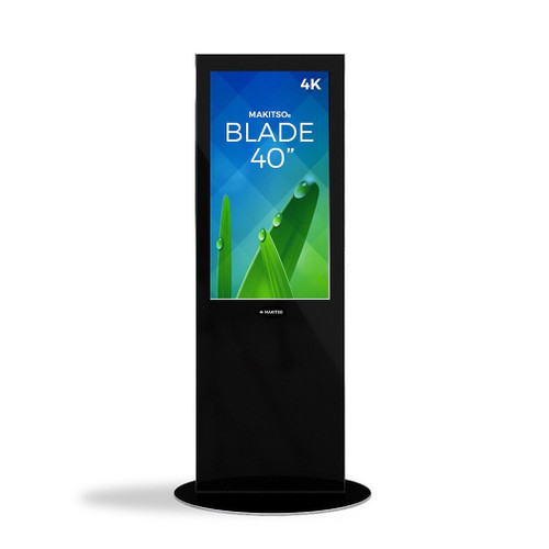 "Blade 40"" - 4K Digital Signage Kiosk - Blade Kiosk, Black, Pro Interface, Touch (BLADE-BPT40)"