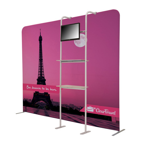 EuroFit Cascade Two-Shelf Merchandiser Monitor Kit (256391)
