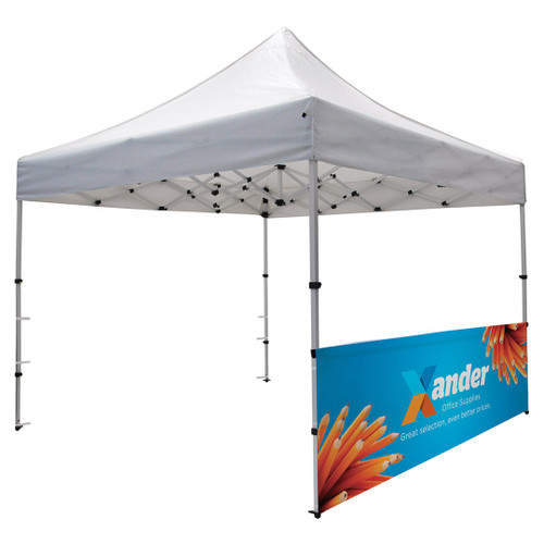 Compact 10' Tent Half Wall Kit (Dye-Sublimated, Single-Sided) (240508)
