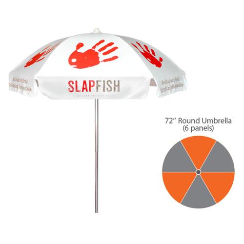 6.5′ – Dome Umbrella – Fully Printed