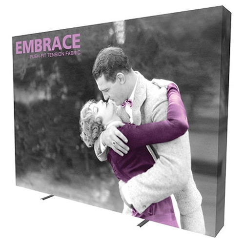 10ft SEG Pop Up Frame 4x3 w/ Full Silicone Edge Graphics