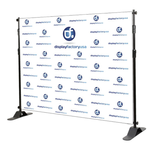 Step and Repeat Banner Stand 10x10ft Graphic Package
